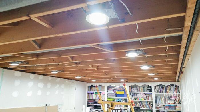 let there be lights basement renovation update home. Black Bedroom Furniture Sets. Home Design Ideas