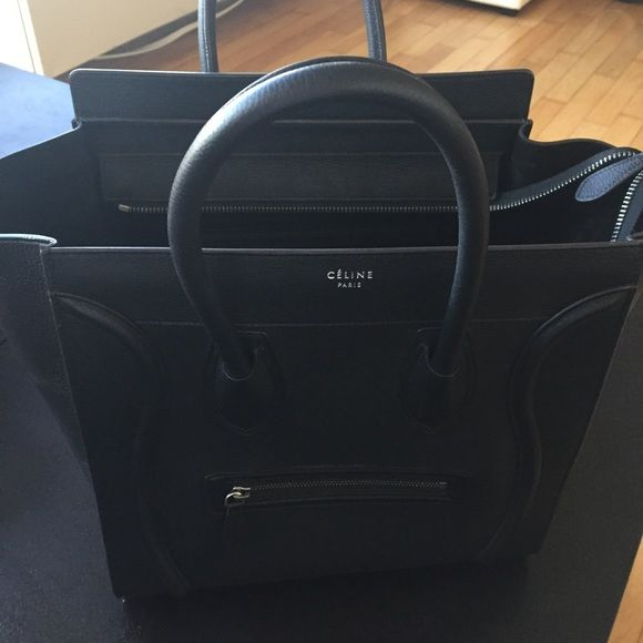 b536446d39b6 Celine Mini Luggage Like New only used a few time. Lost the dust bag but  posh with authenticate for you. Celine Bags