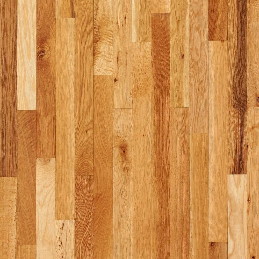 Natural Oak Smooth Solid Hardwood Solid Hardwood Floors Natural Wood Flooring Solid Hardwood