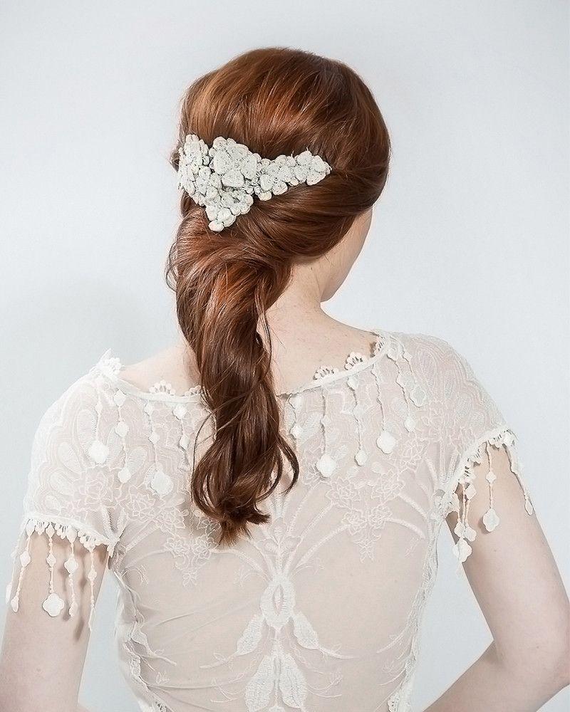 Secret Garden Cluster Emmy London Ethereal Wedding Hair Wedding Hair Accessories Bridal Headpieces
