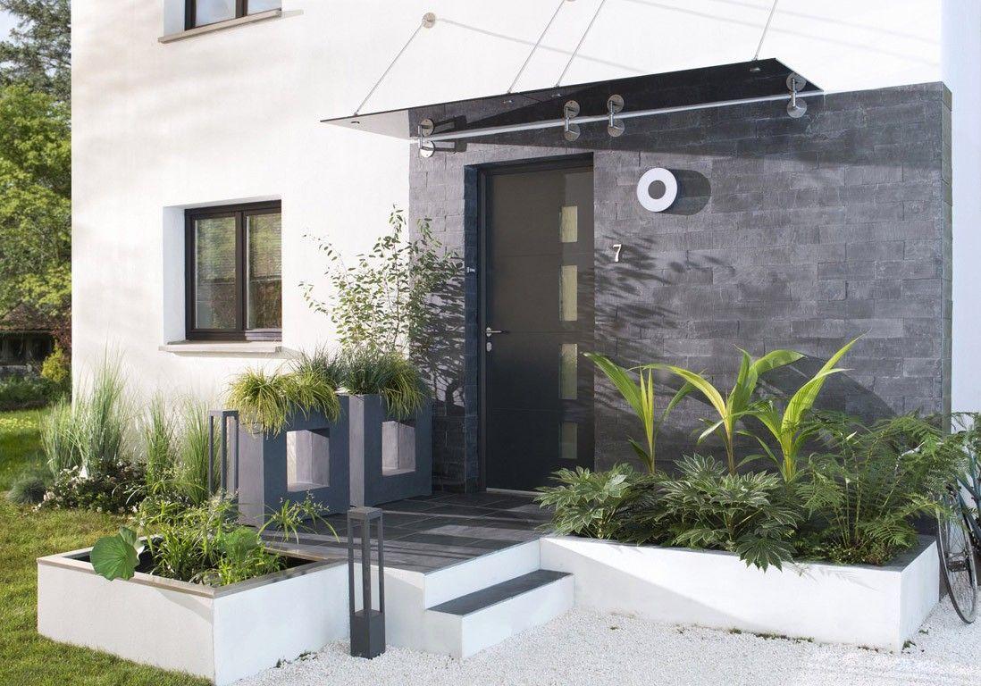 Exterieur Maison Moderne Dans Aménager Une Terrasse Plus De