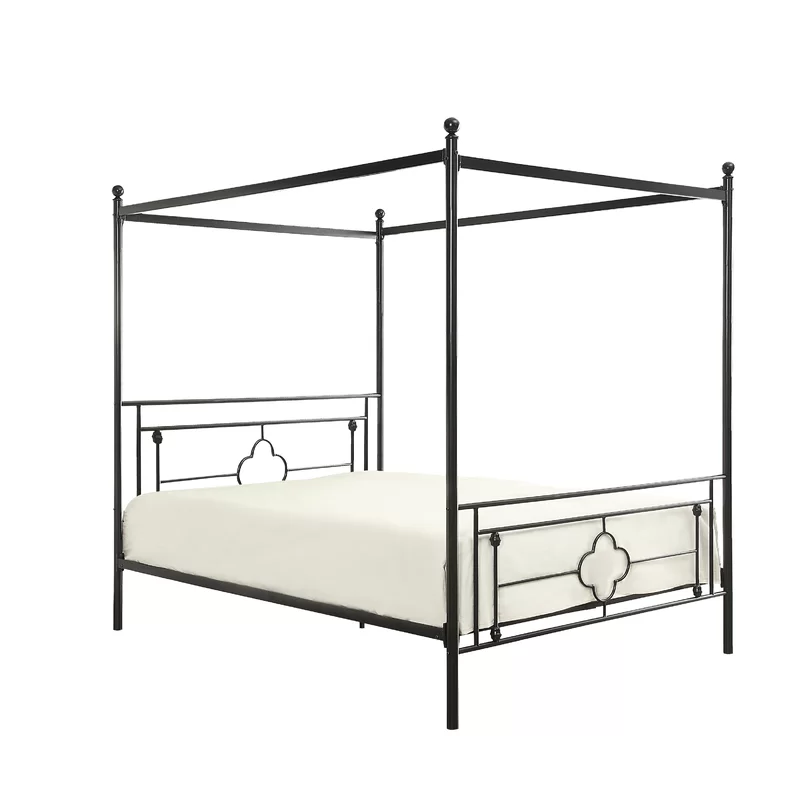 Woodson Canopy Bed Metal canopy bed, Canopy bed frame, Bed