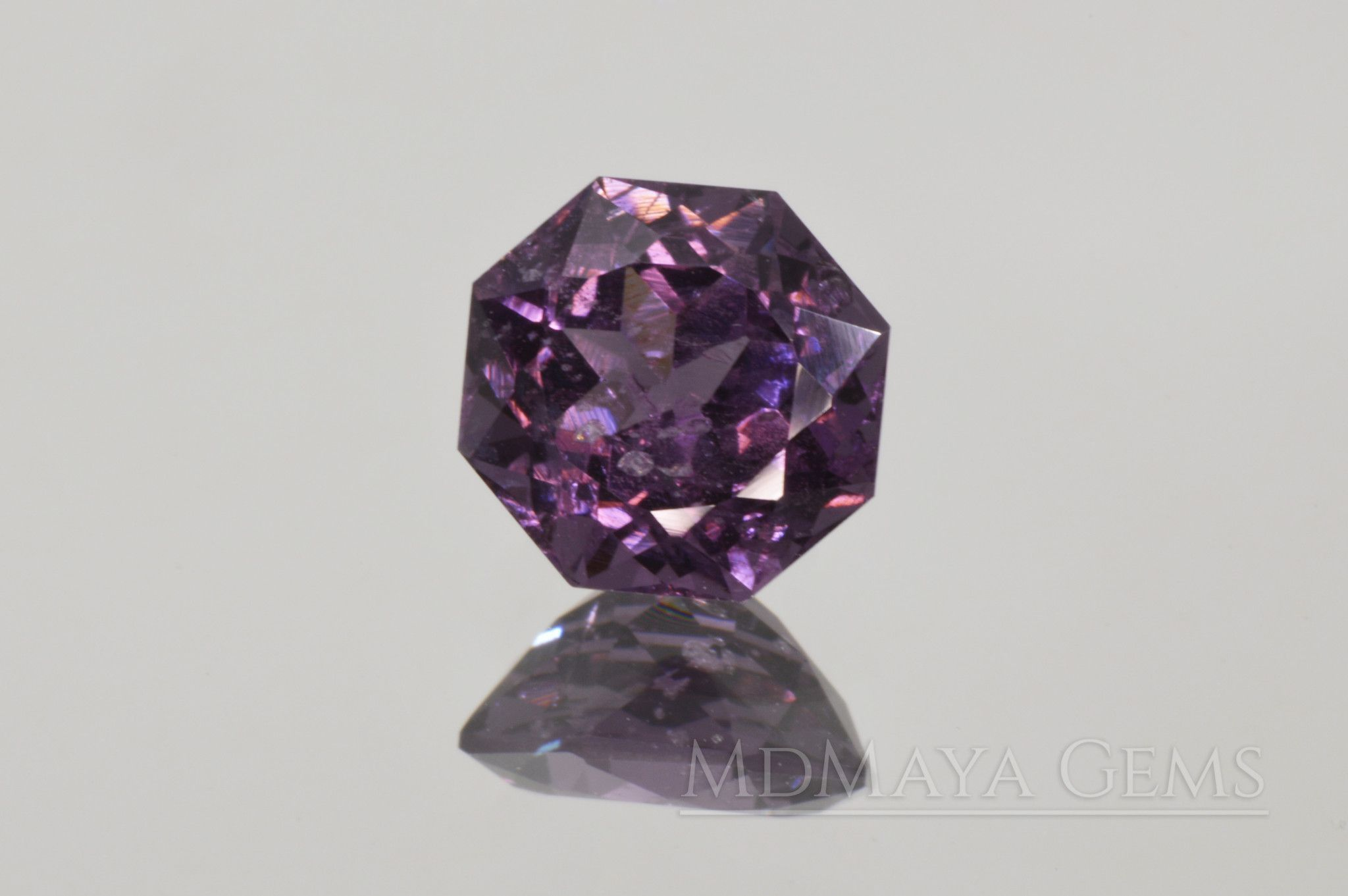 color purple oval itm natural cut amethyst ebay gemstone ct