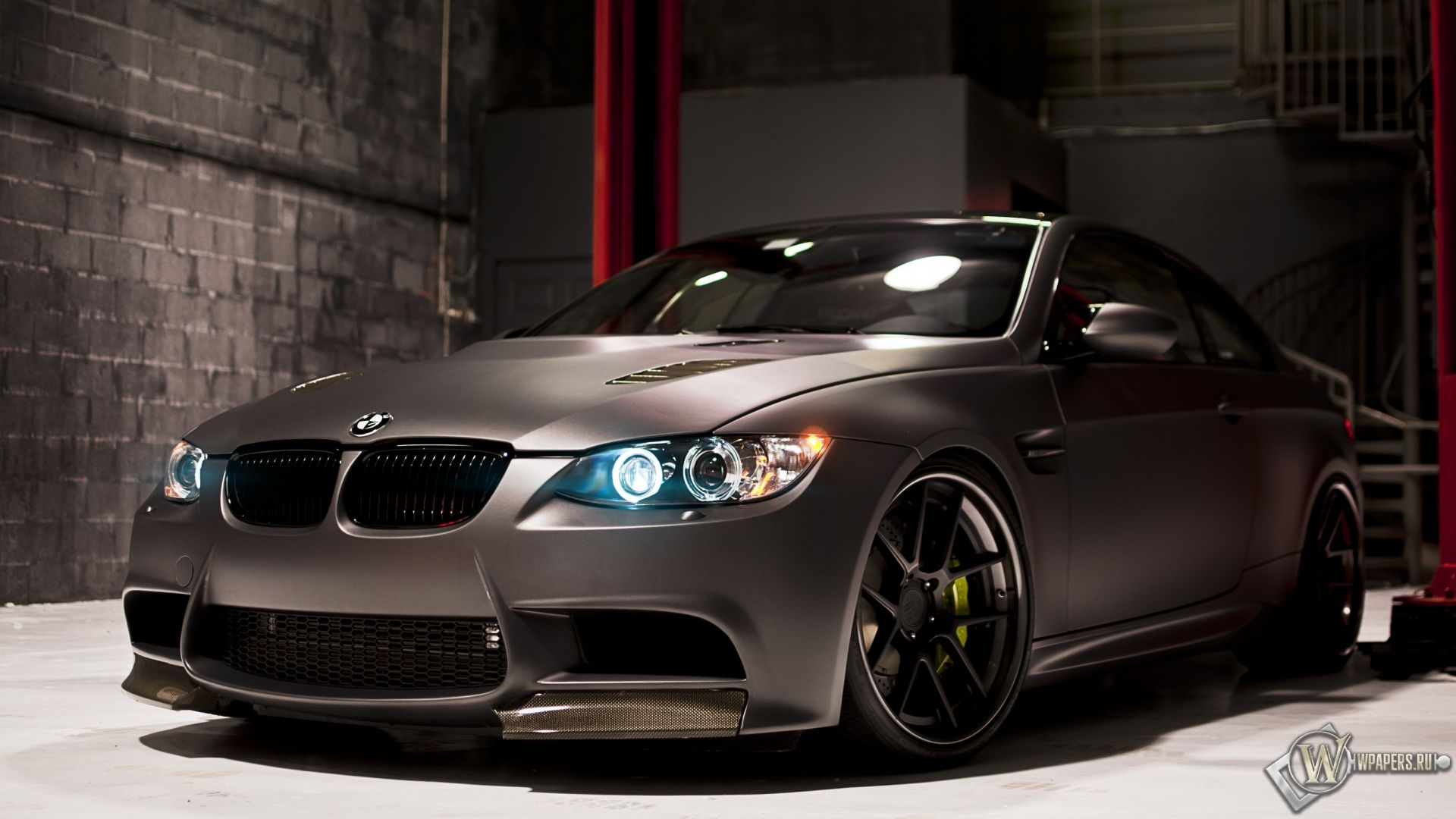 matte black bmw m3 coupe by rdsport bmw m3 1920x1080