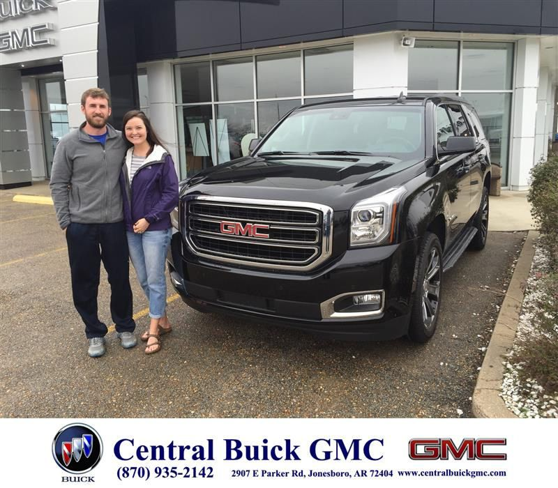 Congratulations Jordan Jacob On Your Gmc Yukon From Justin Duckert At Central Buick Gmc Buick Gmc Buick Gmc