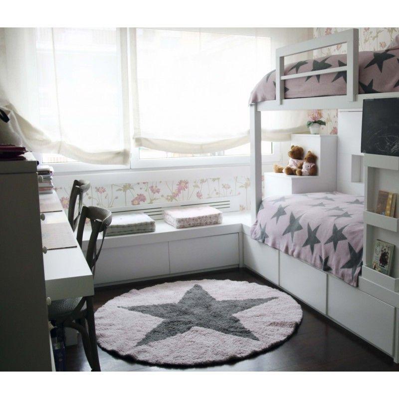 Tapis Rond Reversible En Coton Pour Enfant Round Star Lorena Canals Idee Chambre Enfant Chambre Enfant Decoration Chambre