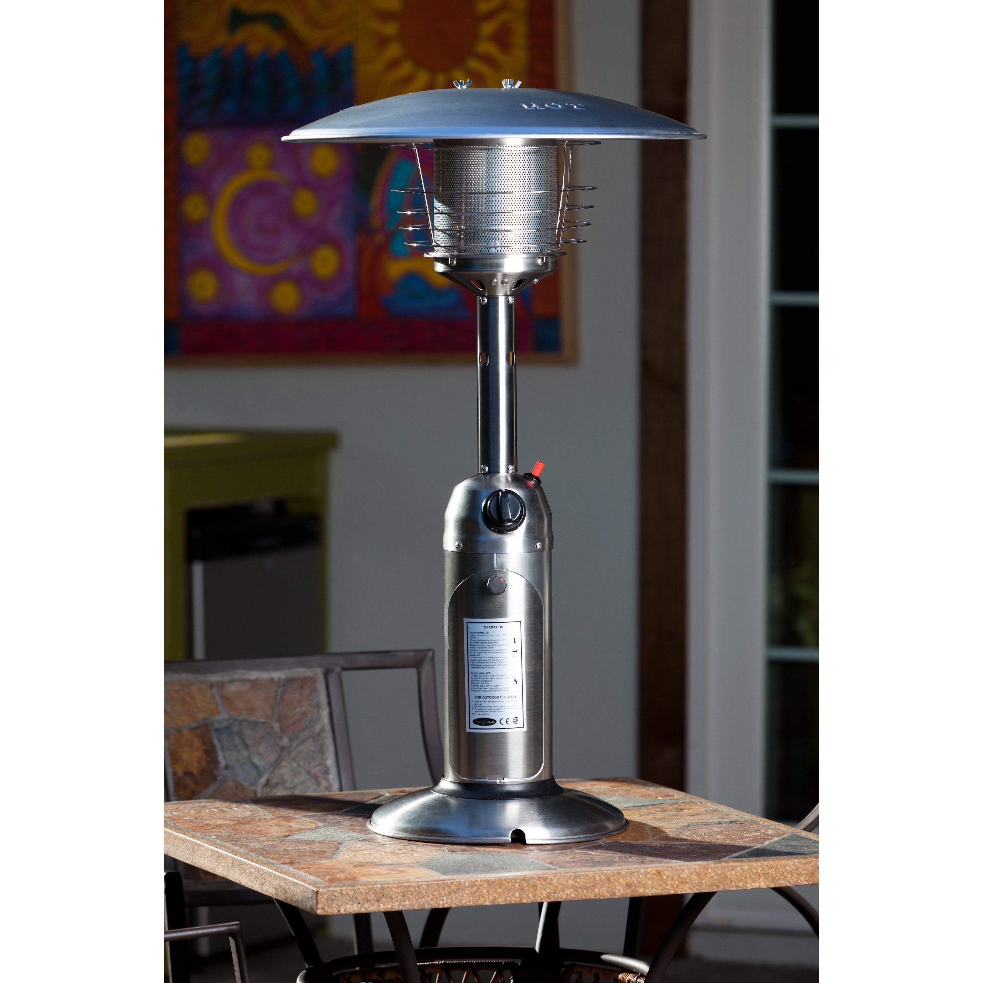 Fire Sense Stainless Steel Tabletop Heater 60262 Products