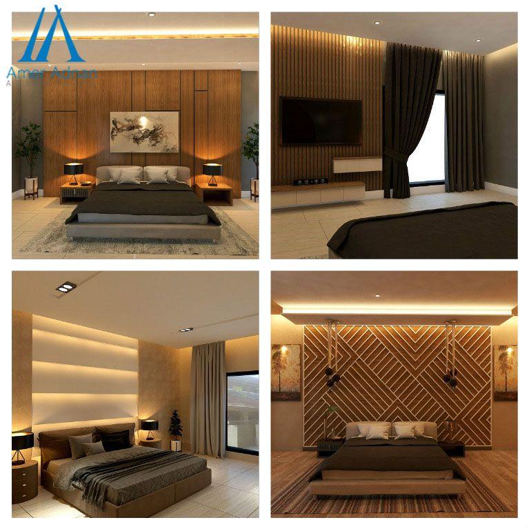 Modern Bedroominterior Design Options By Team Aaa