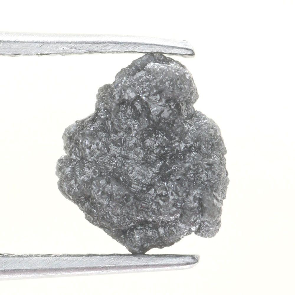 aca91008d 0.97 CARAT ROUGH DIAMOND OUT FROM DIAMOND MINES GRAYISH NATURAL DIAMOND