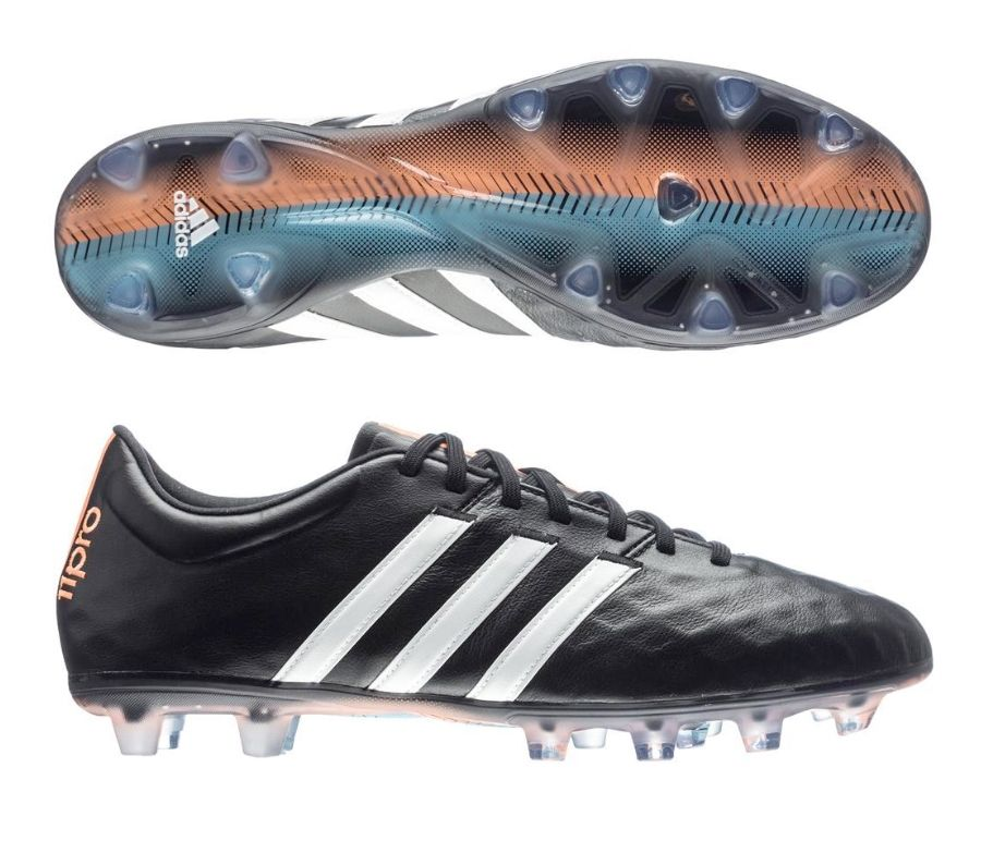 Adidas Adipure 11pro Fg Soccer Cleats Black White Flash Orange Get Your New Pair Of Soccer Boots Today At So Adidas Soccer Shoes Soccer Boots Soccer Cleats