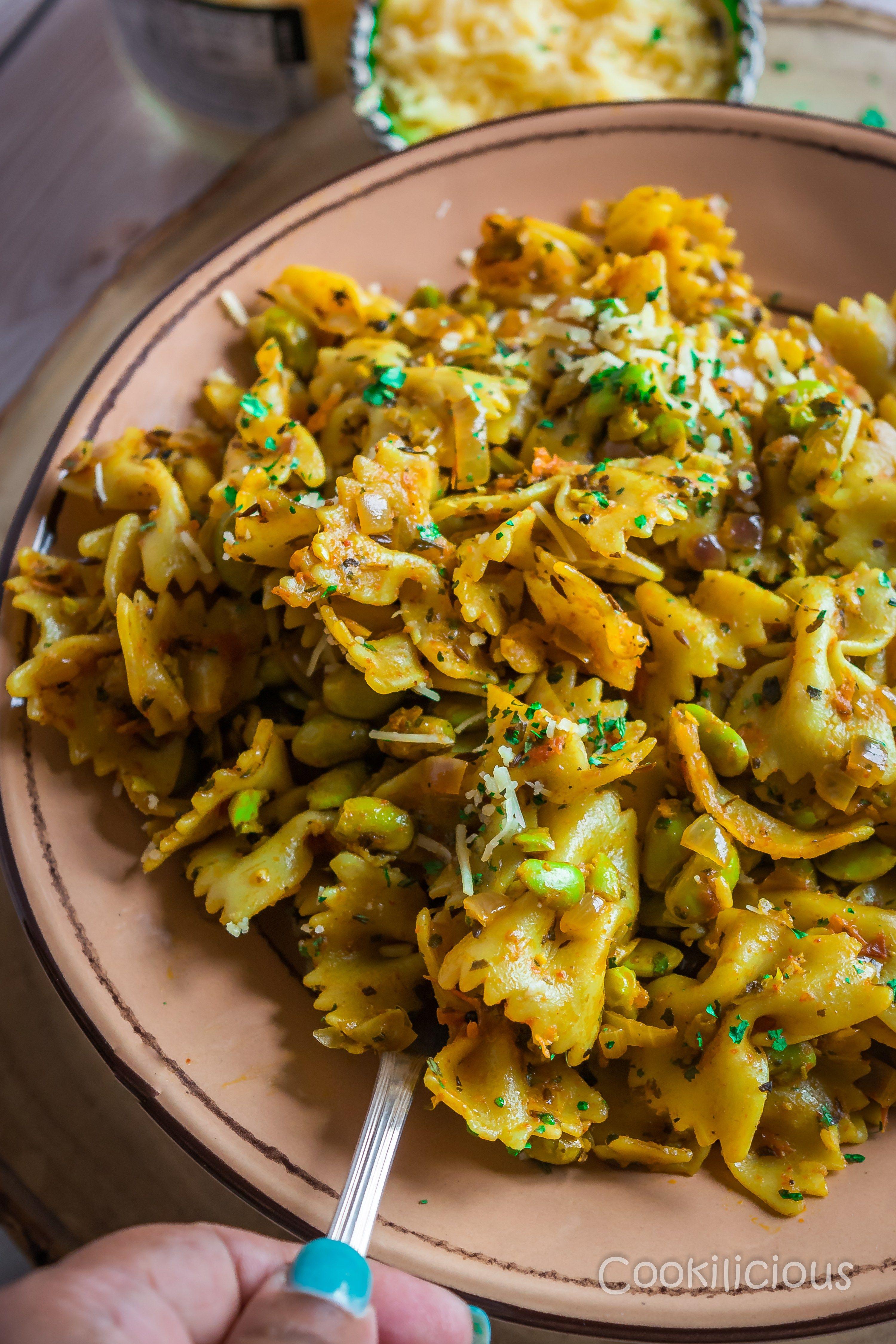One Pot Indian Curry Pasta Recipe Pasta Recipes Indian Indian