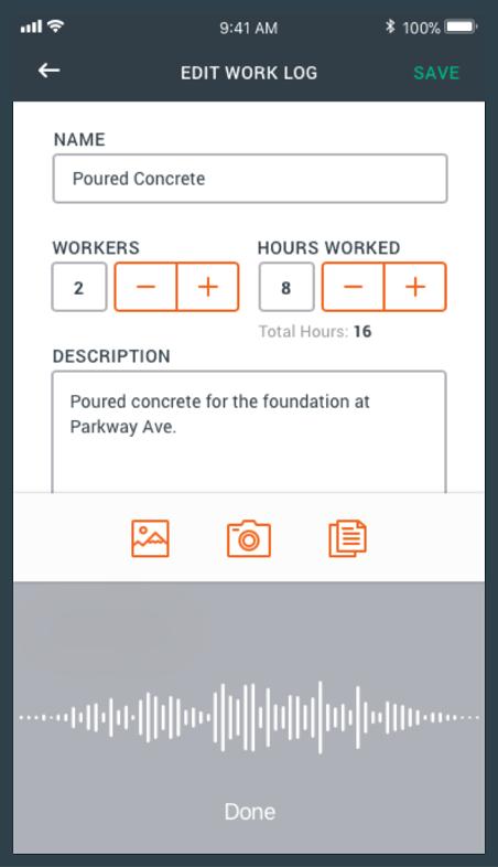 easy daily work logs with raken raken rakenapp worklogs work