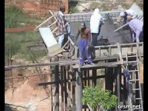 Dirty Jobs Third World Ingenuity construction without machines worst job...
