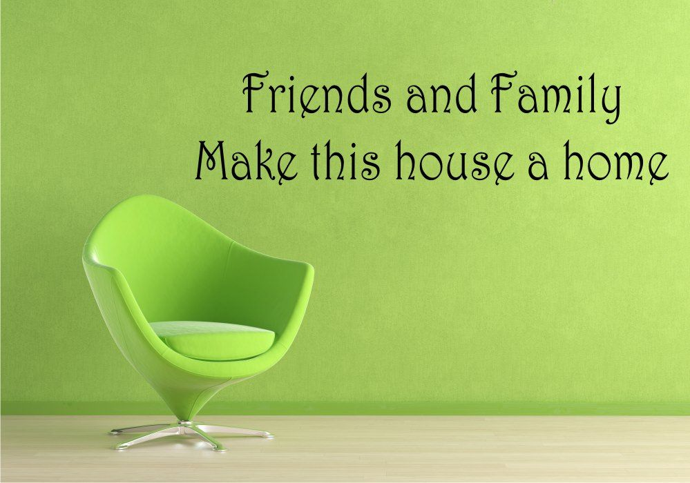 StickONmania com   Vinyl Wall Decals   Lettering Friends & Family Sticker is part of home Letters Friends - StickONmania com offers original vinyl wall decal stickers to decorate your home  Thousands of unique original wall art designs to choose from