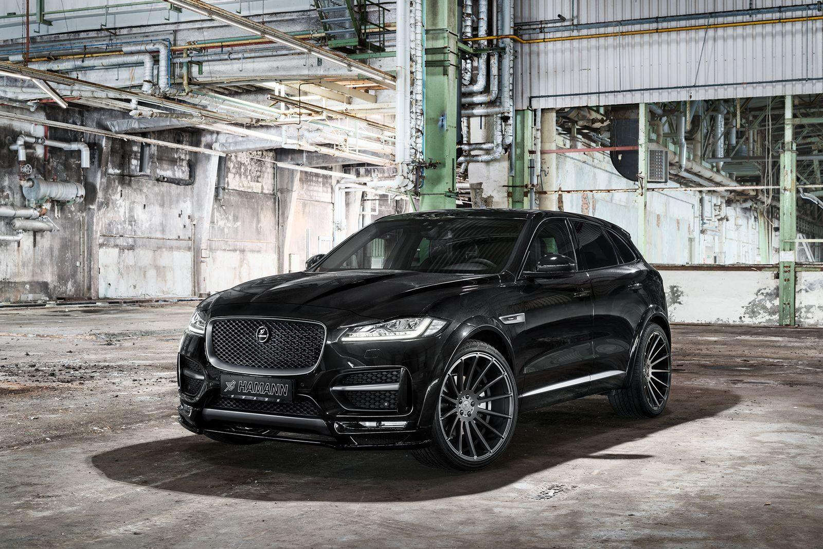 All Black Sinister Jaguar F Pace Gets Custom Parts Jaguar Car Jaguar Fpace Jaguar