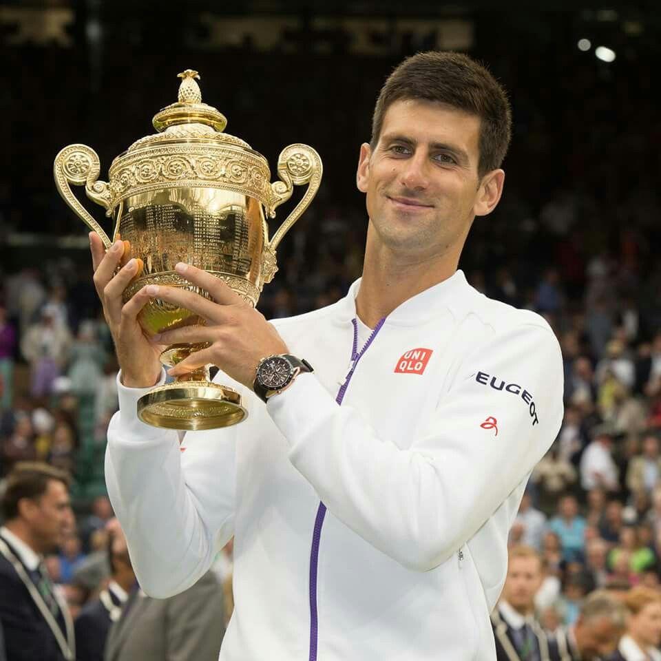2015 Wimbledon Men S Singles Champion Novak Djokovic Wimbledon Wimbledon Champions Tennis Professional