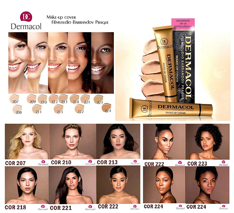 Beautiful natural makeup dermacol makeup cover