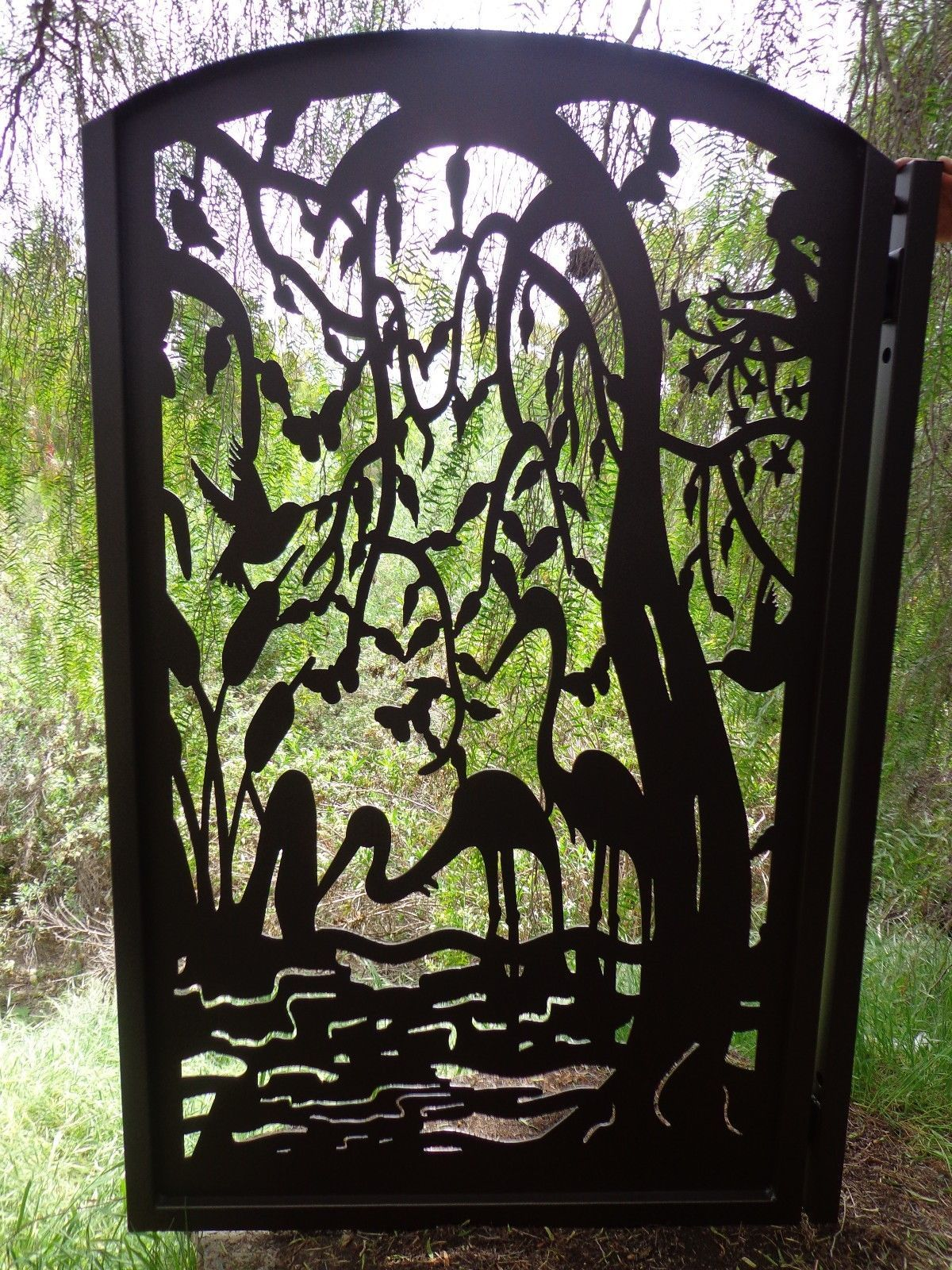 Metal Gate Custom Factory Direct On Sale Wrought Iron Garden Art  Ornamental. Find This Pin And More ...
