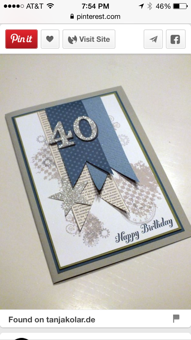 Male Birthday Card