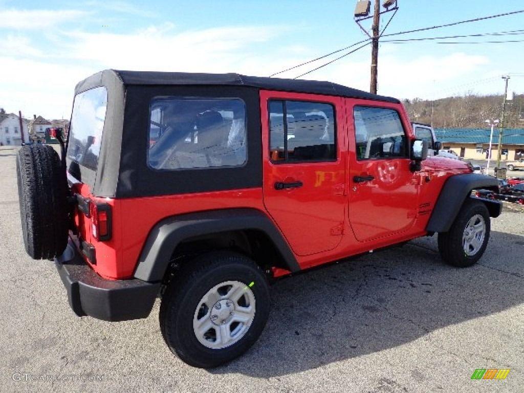 Car Wallpaper For 2013 Rock Lobster Red Jeep Wrangler Car
