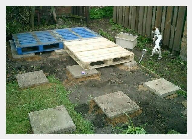 Simple Pallett Shed Foundation Pallet Shed Shed Floor Shed Base