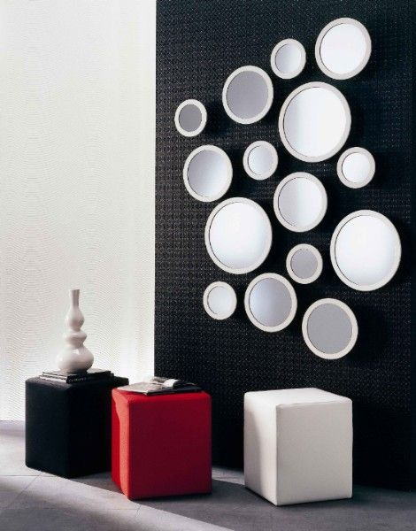 Unique Wall Mirrors From Opulent Items Design Mirror Wall - Unique-wall-mirrors-from-opulent-items