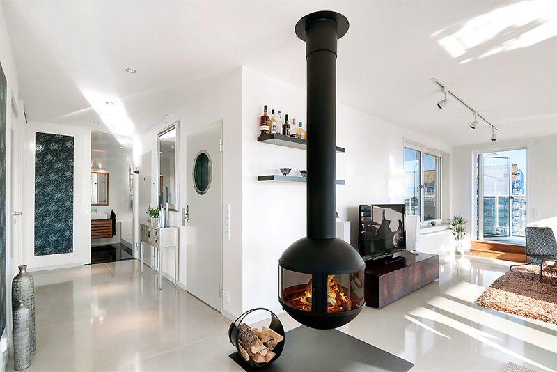 #cheminee agorafocus #design contemporain http://www.focus-creation.com/