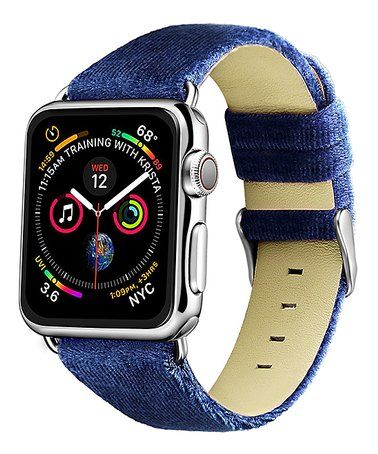 This Navy Velvet Band for Apple Watch is perfect!