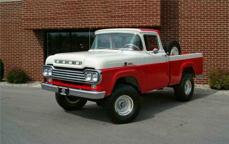 1959 Ford Truck F 100 4x4 4wd Awd Trucks