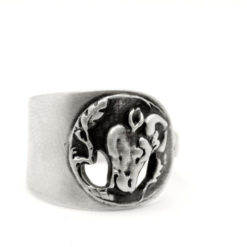 Cow Ring Spoon Ring Sterling Silver Farm Animal Ring Ring Etsy In 2020 Sterling Silver Spoon Ring Sterling Silver Rings Sterling Ring