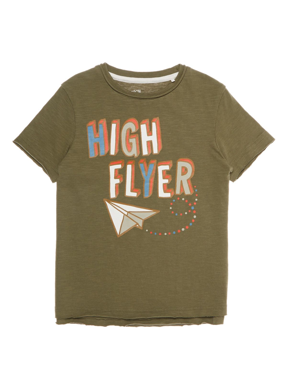 All Boy's Clothing Khaki High Flyer Tee (9 months- 6 years) | Tu clothing