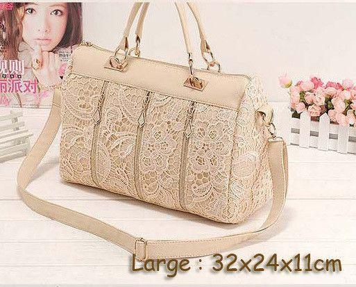 2016 princess lace fashion bag women's handbag women's cross-body bag women's messenger bag