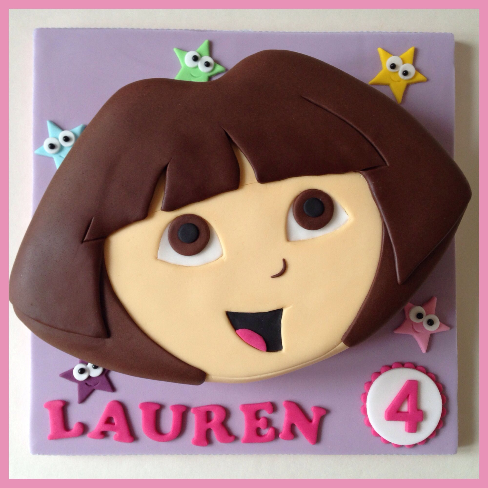 Dora The Explorer cake | Dora Theme | Pinterest