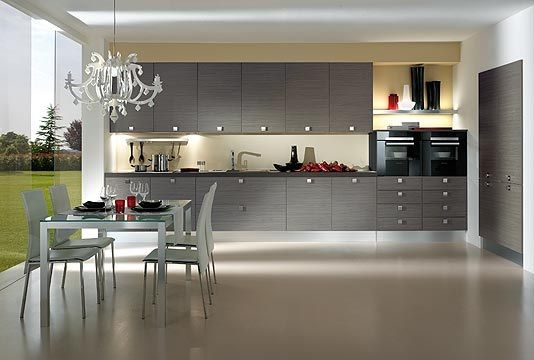 Cocina color gris Más | Cocinas | Pinterest | Colores grises, Gris y ...