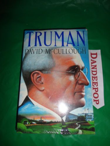 New Sealed Truman book by David McCullough find me at www.dandeepop.com