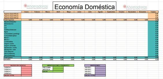 Cómo Calcular Nuestros Gastos Mensuales Plantillas De Presupuesto Gastos Mensuales Presupuesto Familiar