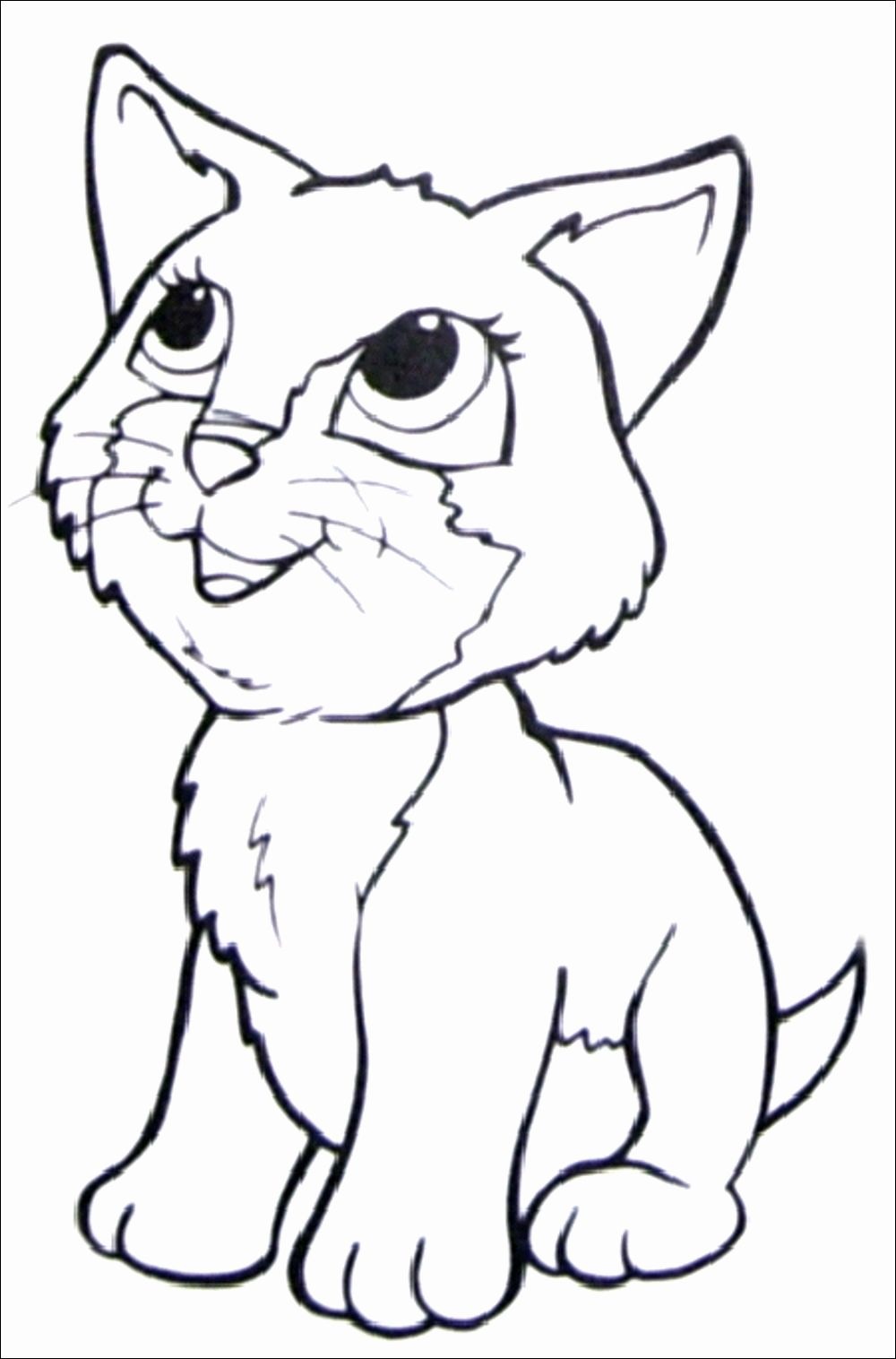 Cat Coloring Pages Kids In 2020 Kitty Coloring Cat Coloring Book Dog Coloring Book