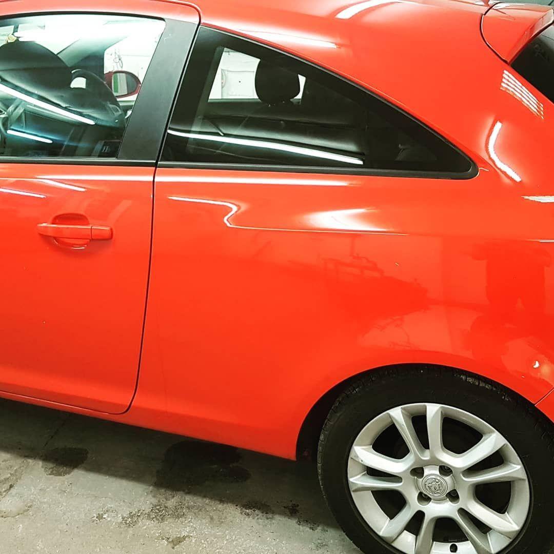 Vauxhall Corsa Window Tint 18 Suntek Film Car Detailing Valeting