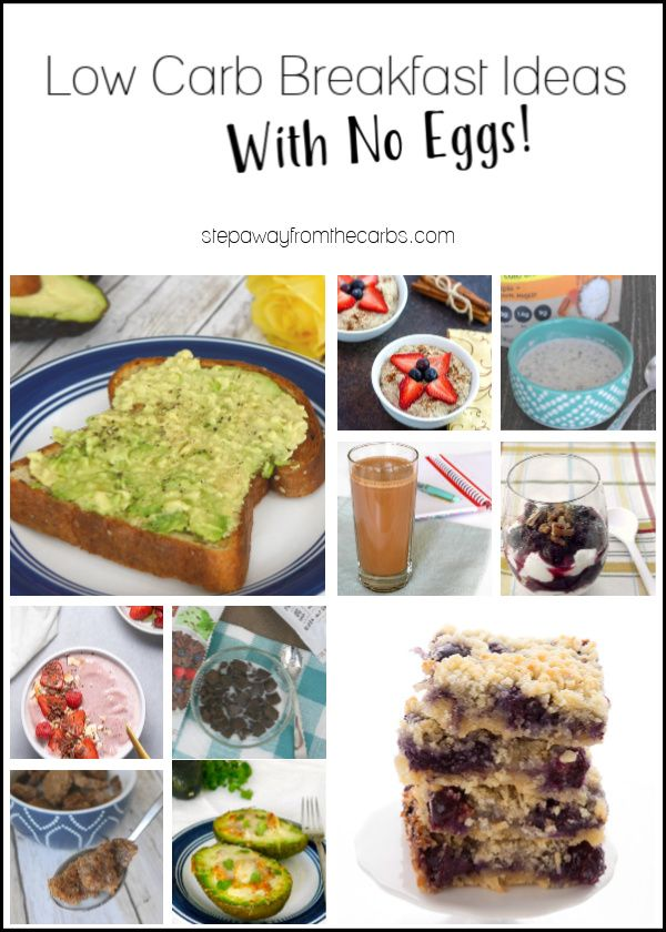 best breakfast for low carb diet