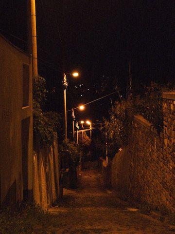 Down the Alley di PRINTPICStudio su Etsy