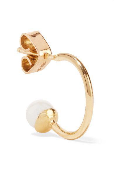 Ana Khouri Mirian 18-karat Gold Earrings wMyVr3d
