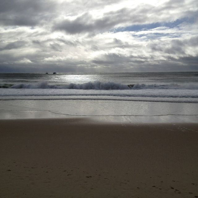 Just a nice view of a stormy sea at Mooloolaba