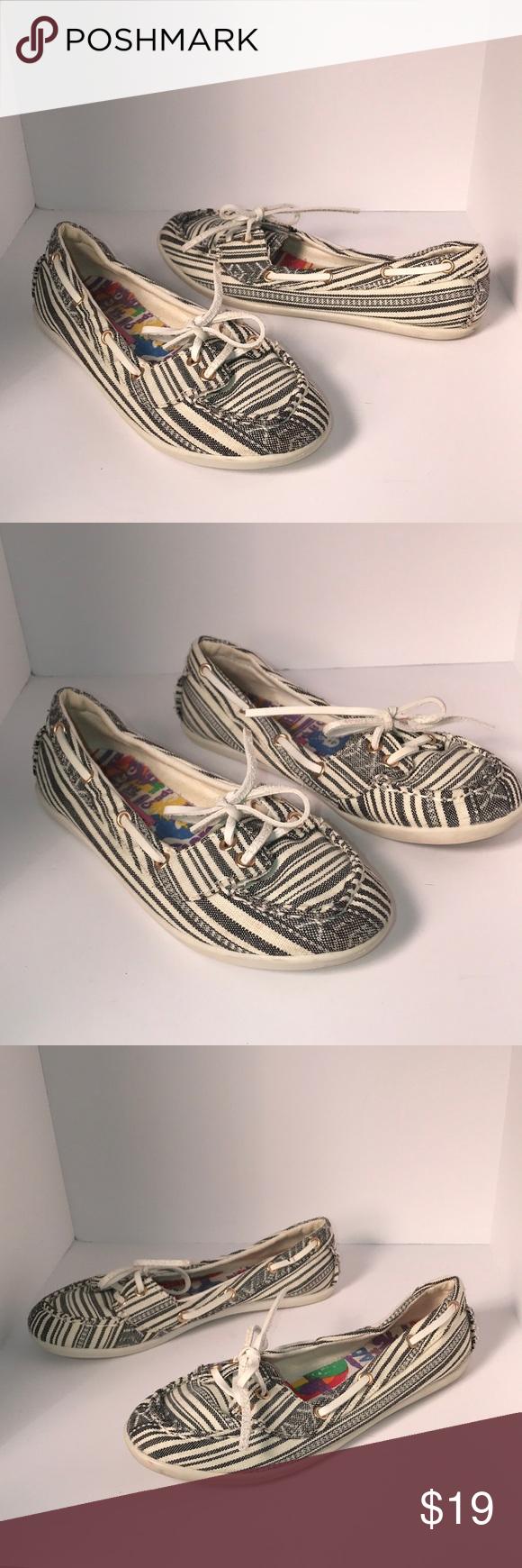 Rock \u0026 Candy Canvas Boat Shoes | Canvas