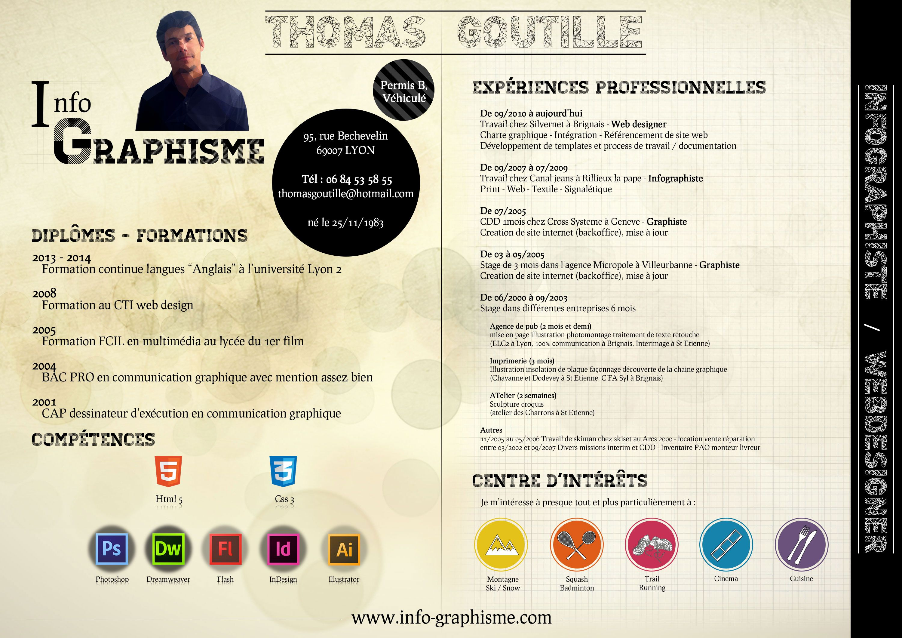 Cv Graphiste Recherche Google Good Company Design Reference Graphic Design