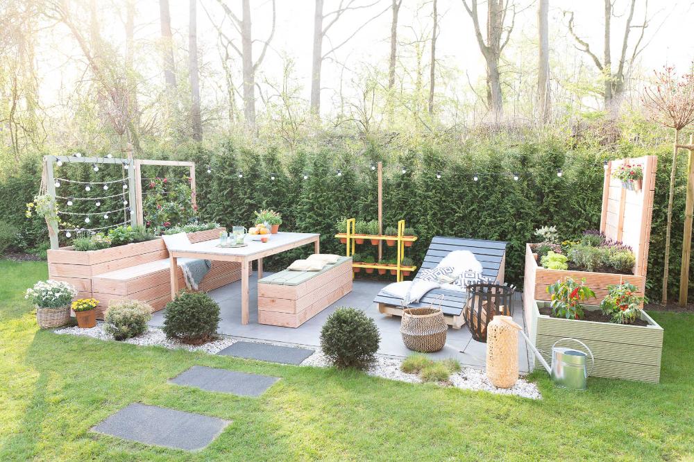 Hochbeet Alfred Mit Rankhilfe Selber Bauen Alle Mobel Create By Obi In 2020 Hochbeet Rankhilfe Gartengestaltung Hochbeet