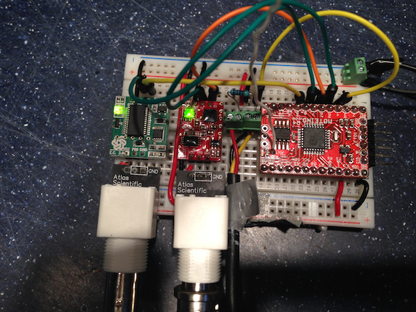 Water Sensor Node: Arduino + Atlas Scientific pH & Conductivity