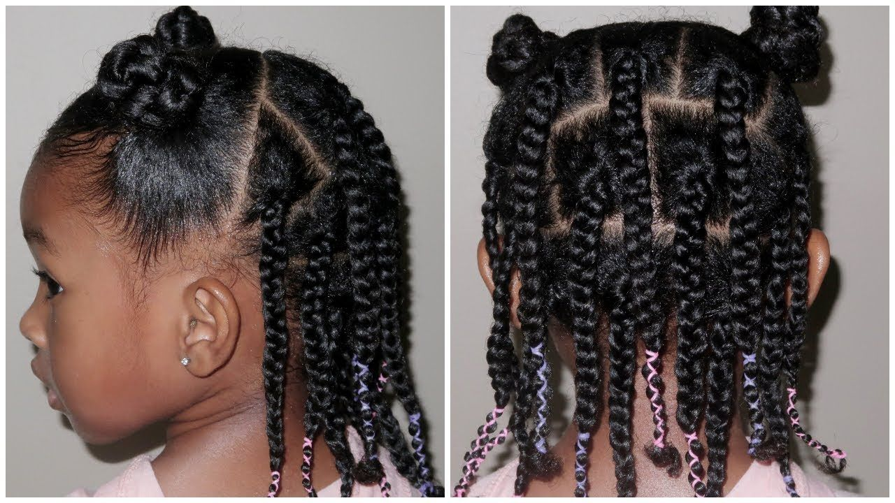 Easy 3 5 Days Leave In Hairstyle Sekora Designed Mommy Fail Youtube Easy Black Girl Hairstyles Natural Hair Styles Baby Hairstyles