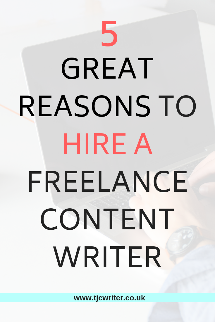 Are You Considering Hiring A Freelance Writer For A Project Have A Read Of My Top 5 Reasons Why I Think Working With A F Writer Jobs Writing Jobs Hire Writers