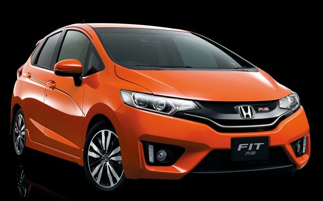 Honda Launches New Fit In Japan Has Big Expectations For North America Honda Fit 2015 Honda Fit Honda Fit Hybrid