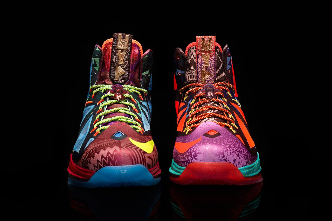 all of lebron james shoes